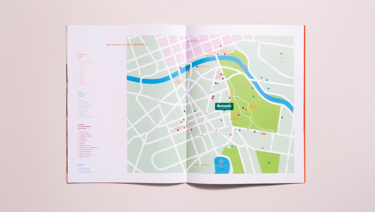 Location Amenities Map