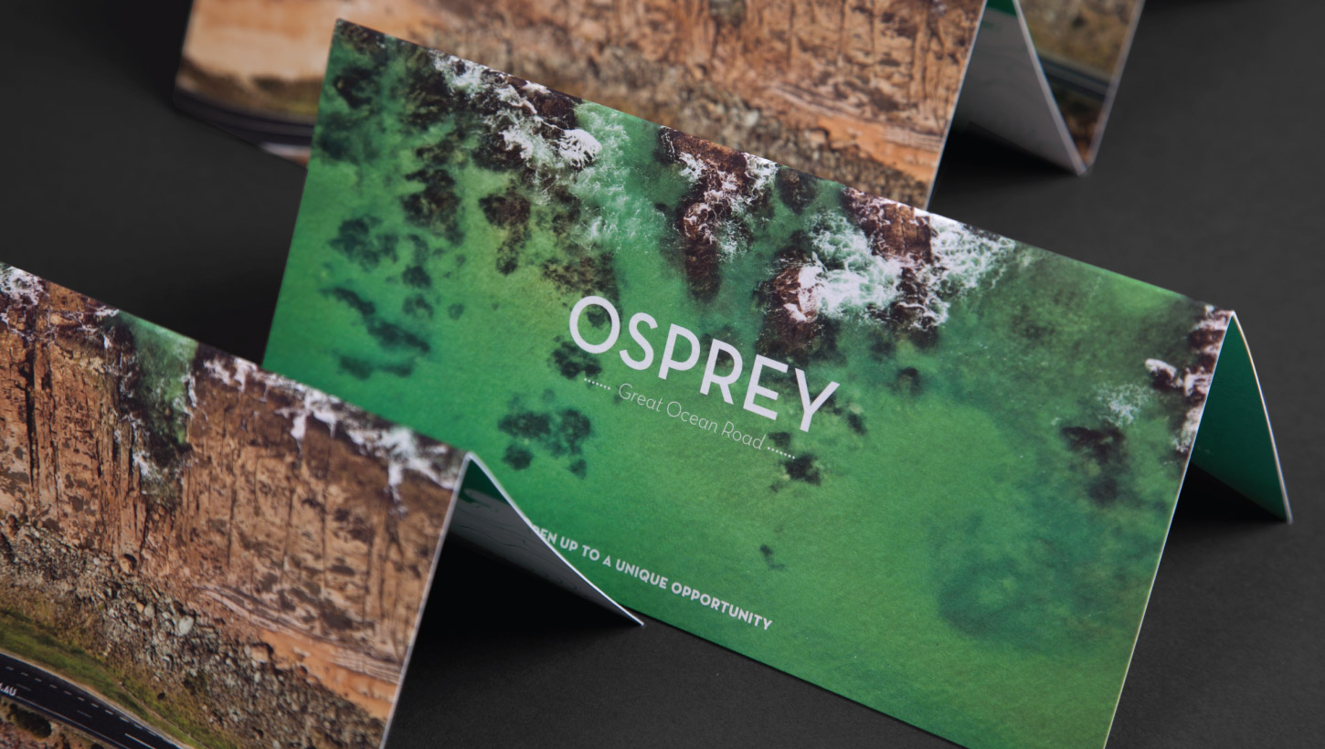 osprey brochure folded