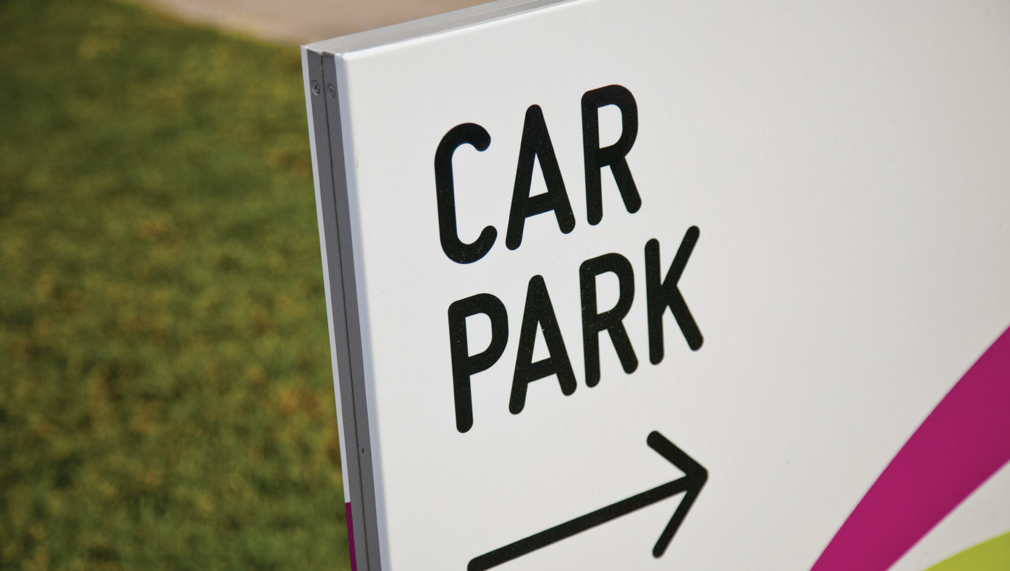 williams landing car park sign
